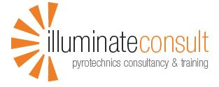Illuminate consult logo for wedding fireworks displays